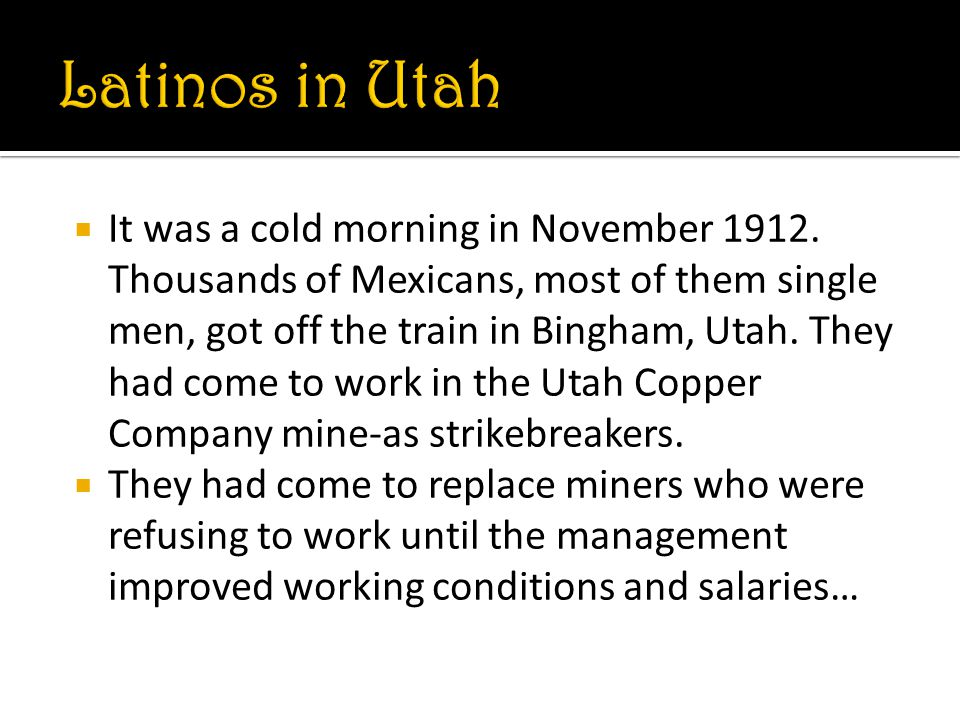  It was a cold morning in November 1912.