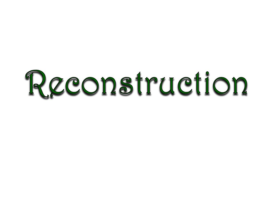 Reconstruction era essay