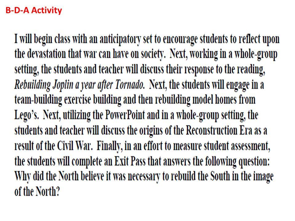 Essay on republic reconstruction