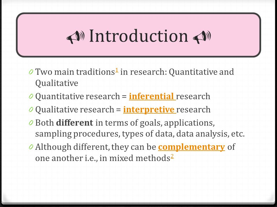 Quantitative  amp  Qualitative Research Traditions  Different but     Marketing Research  Definition  Purpose and Role in Marketing Strategy