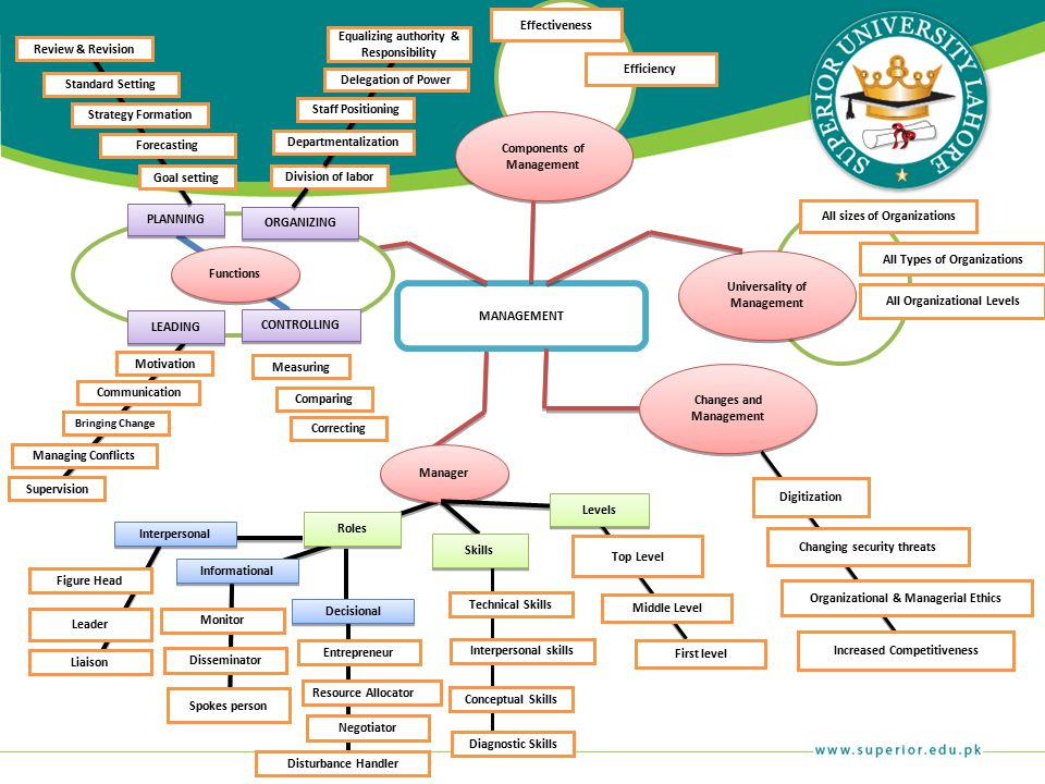 Roles Skills Manager Interpersonal Informational Decisional Liaison Leader Figure Head Spokes person Disseminator Monitor Entrepreneur Resource Alloca