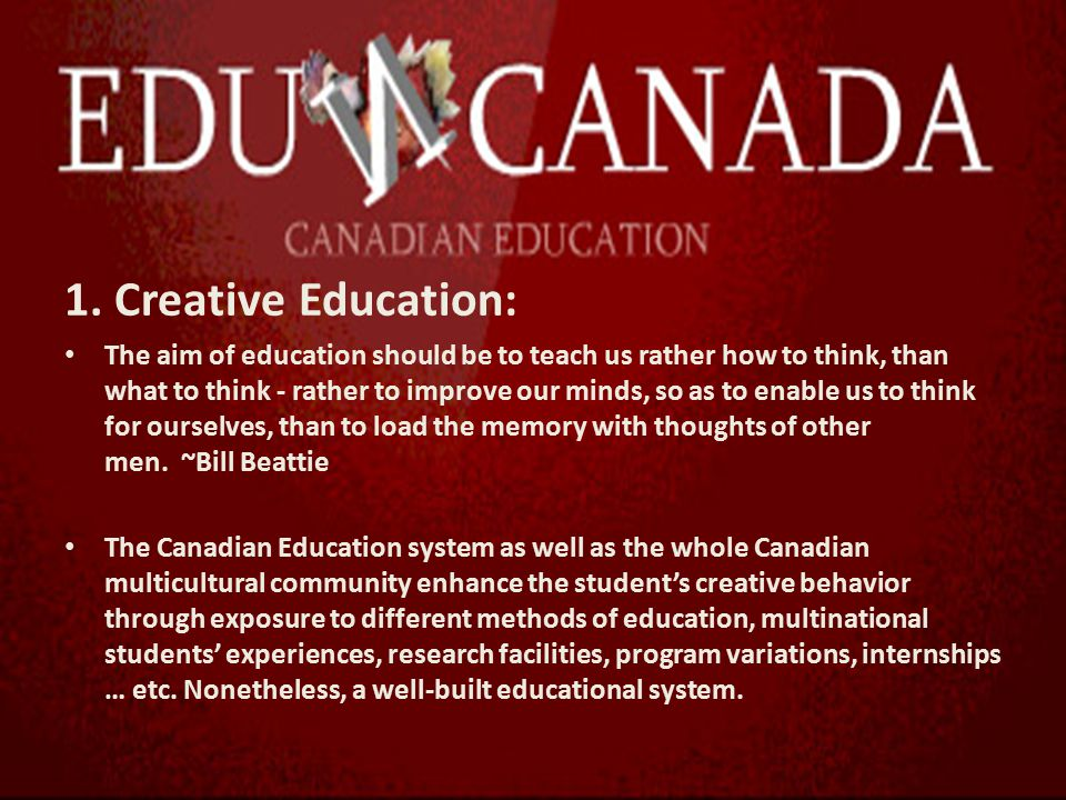 canadas educational system