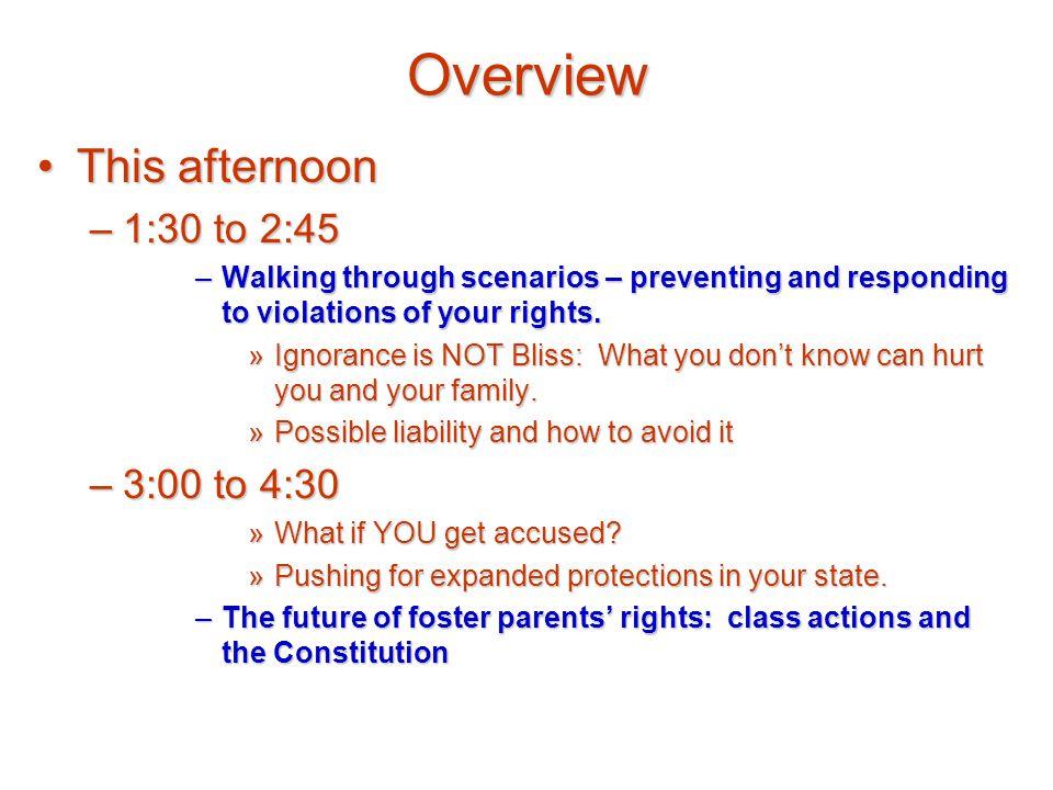 Parent Legal Rights?