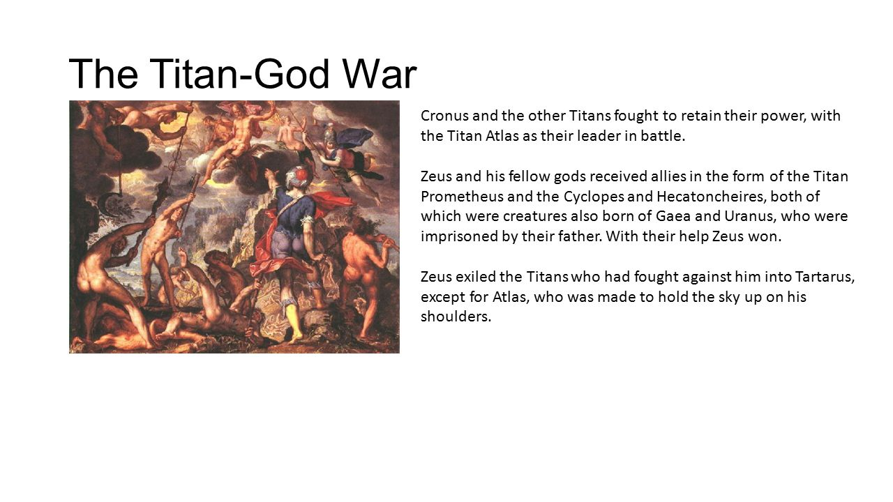 Greek mythology titans and gods creation gaea the earth gave the titan god war cronus and the other titans fought to retain their power buycottarizona Images