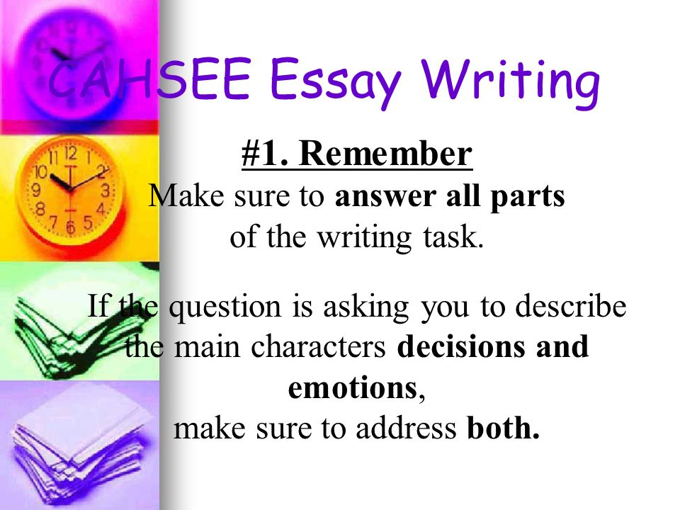 released cahsee essays Cahsee writing scoring guide - in this site is not the same as a answer manual you purchase in a read online cahsee writing scoring guide as release as you can.