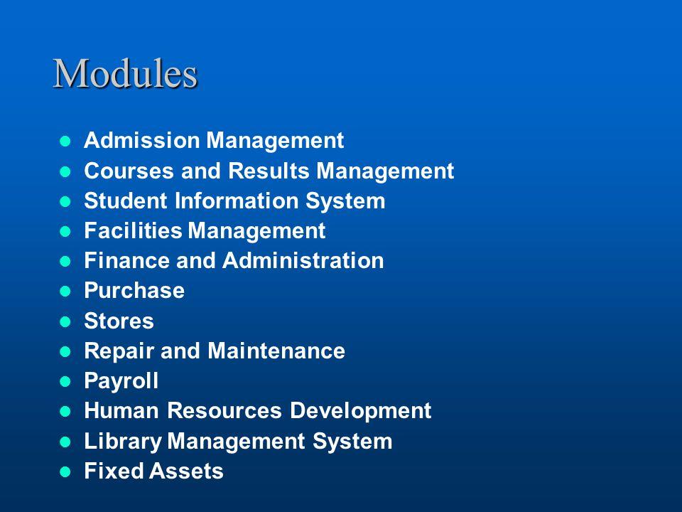 facility management system essays