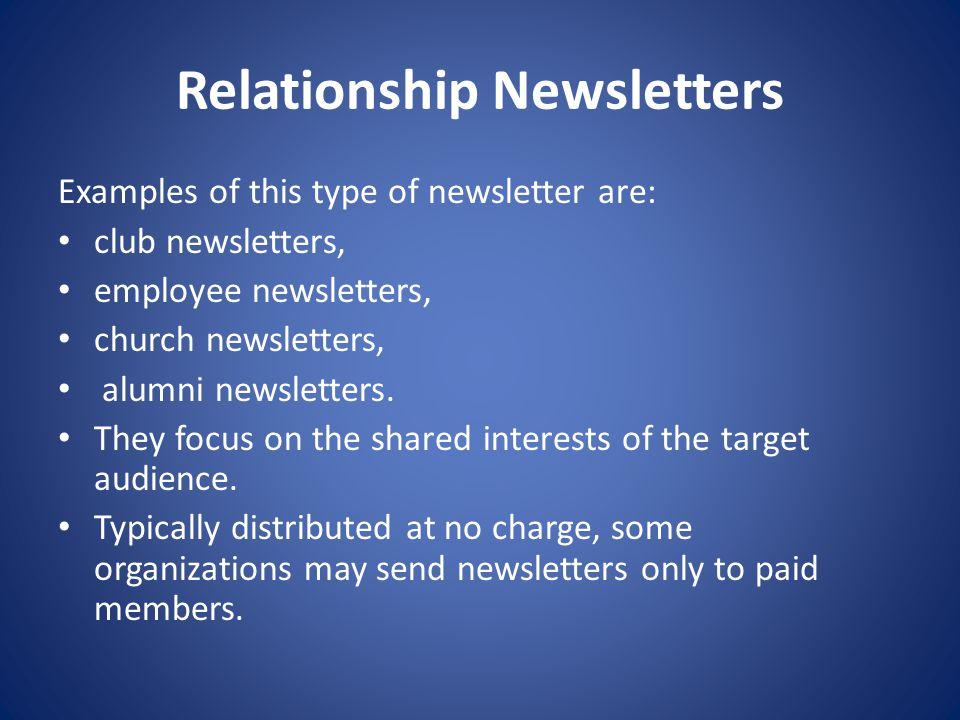 Newsletter Presentations Adobe Design 2 Parts Of A Newsletter