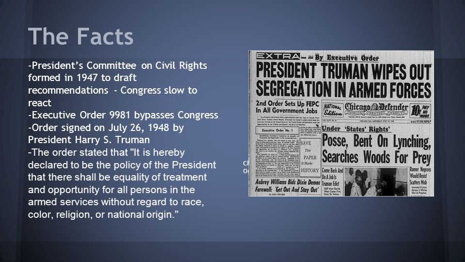 Image result for president truman signed orders desegregation of u.s. military