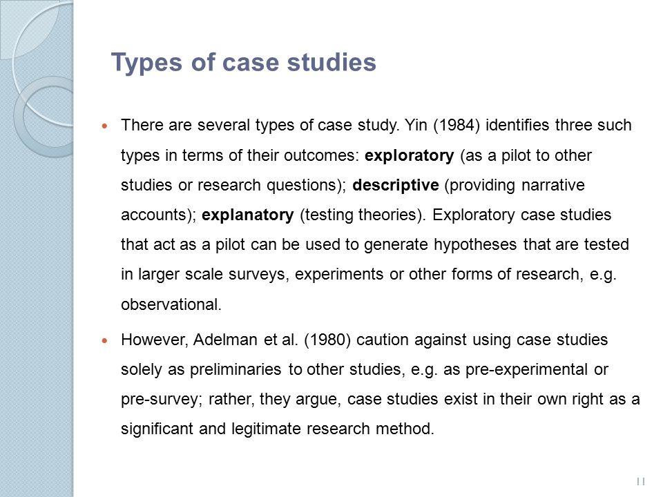 Yin case study