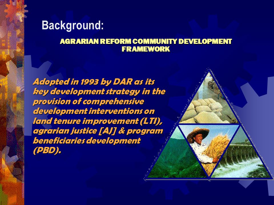 meaning of the state shall promote comprehensive rural development and agrarian reform Soc5 quiz 1 inflation the state shall promote comprehensive rural development and agrarian reform comprehensive agrarian reform law.
