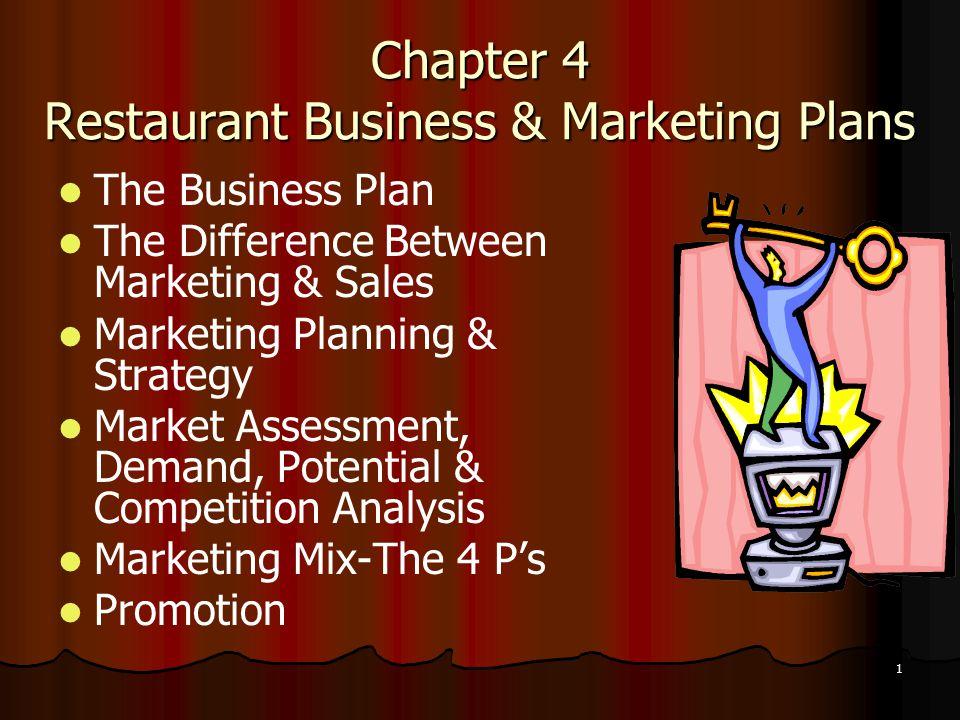 Marketing plan for a restaurant?