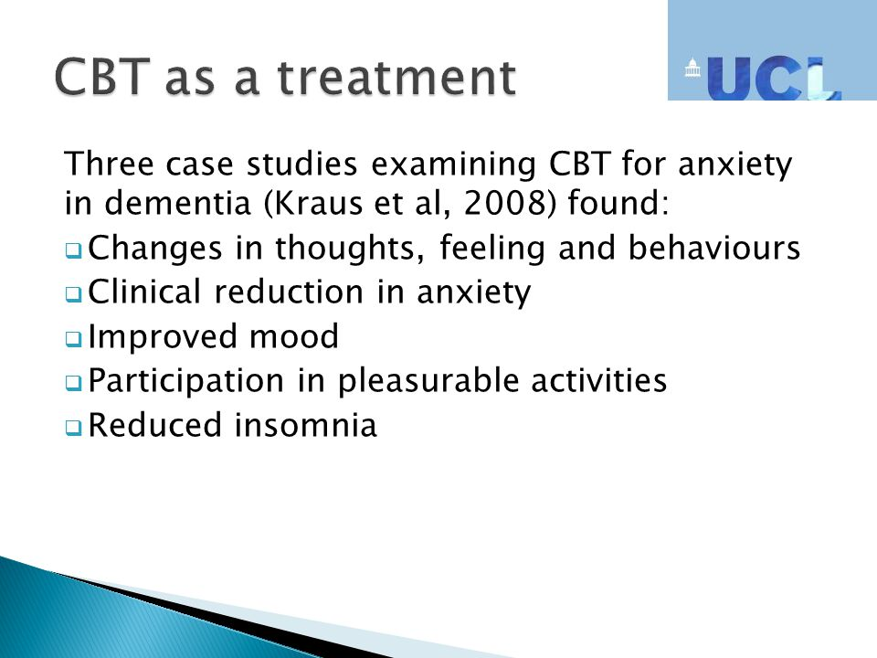 case study on depression cbt Cognitive behaviour therapy: a case study jessica price describes how a client reduced symptoms of depression by learning to.
