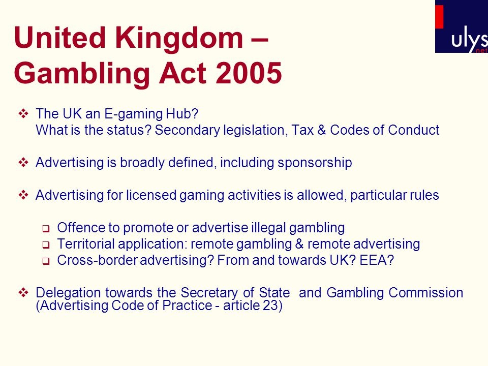Unlawful gambling act 2009 the silverton hotel and casino