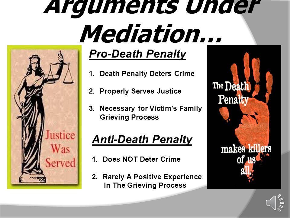 Essay Against The Death Penalty