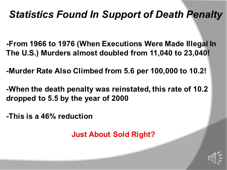 capital punishment the solution
