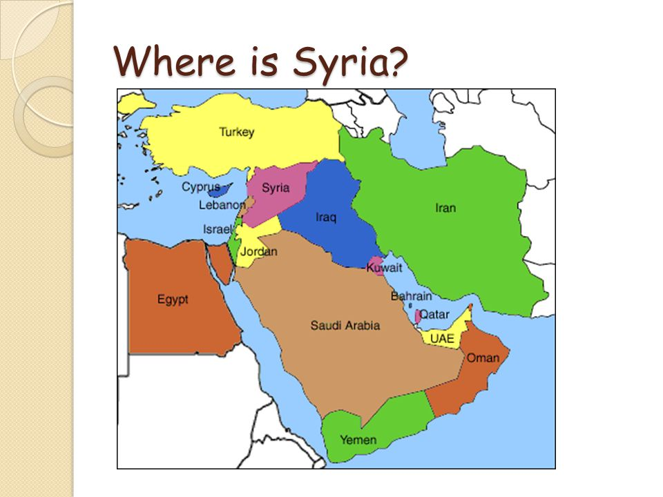 Conflict In Syria What Is Going On Where Is Syria Ppt Download - Where is syria