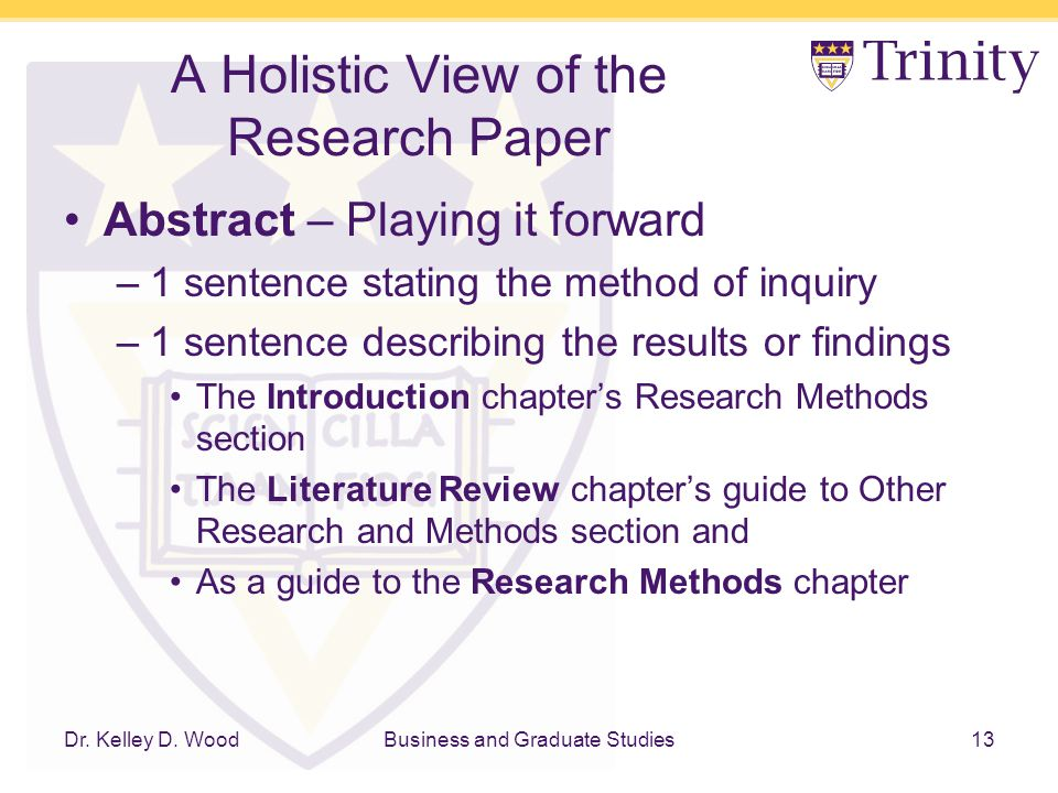 Discussion Dissertation Qualitative