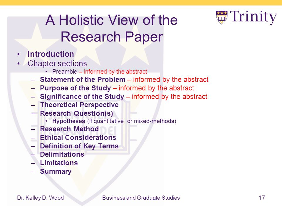 thesis chapter 1 significance of the study Unlv theses, dissertations, professional papers, and capstones 5-2011 cyberbullying in schools: a research study on school policies and procedures.