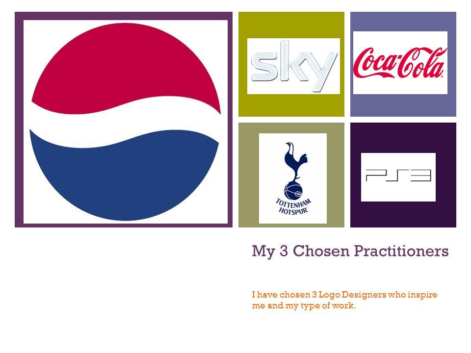 My 3 Chosen Practitioners I have chosen 3 Logo Designers who ...