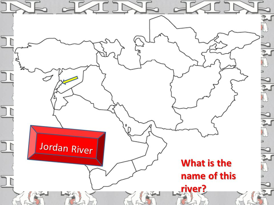 What is the name of this river Jordan River