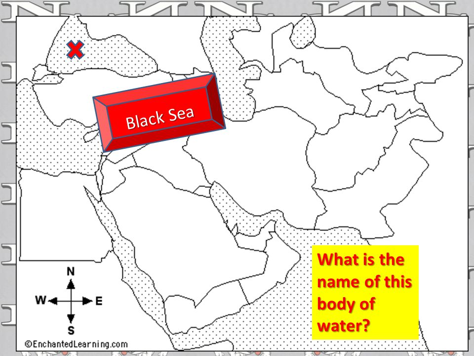 What is the name of this body of water Black Sea