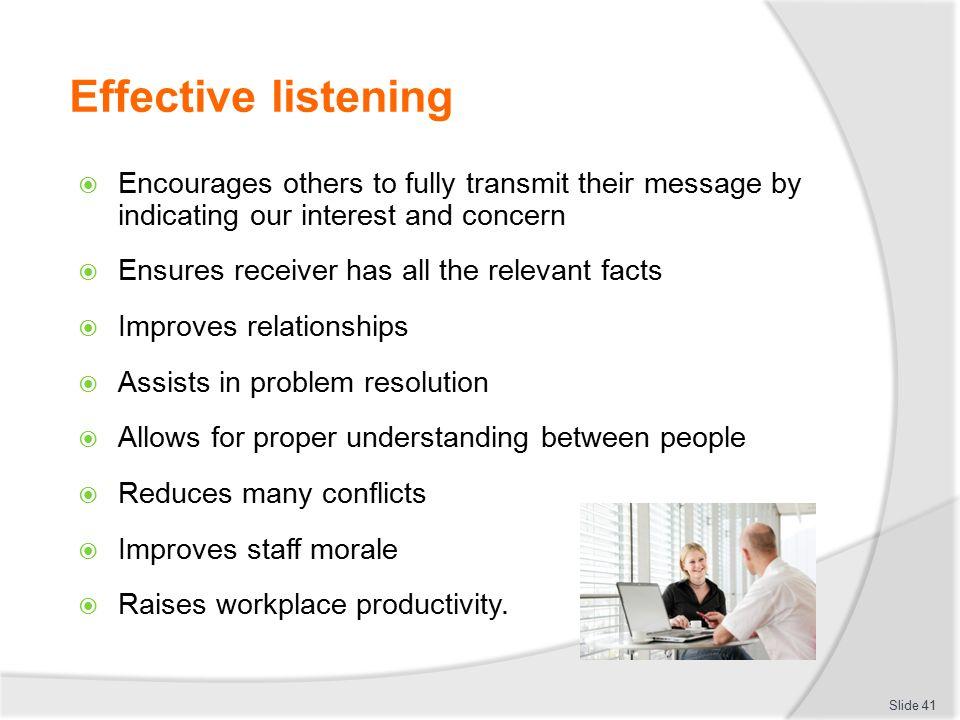 effective informational listening