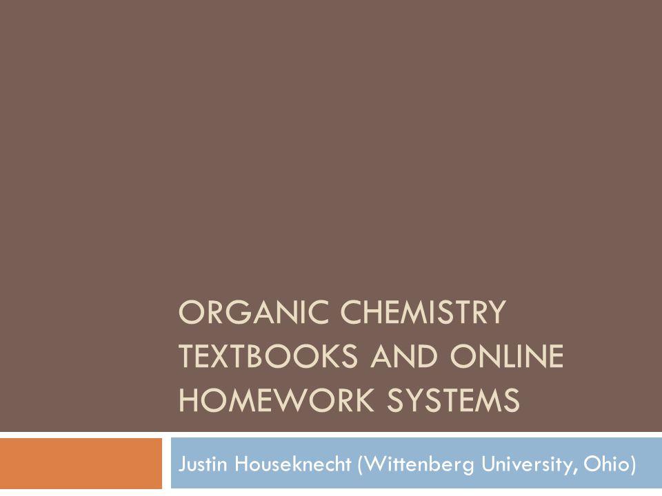 Sapling homework answers organic chemistry