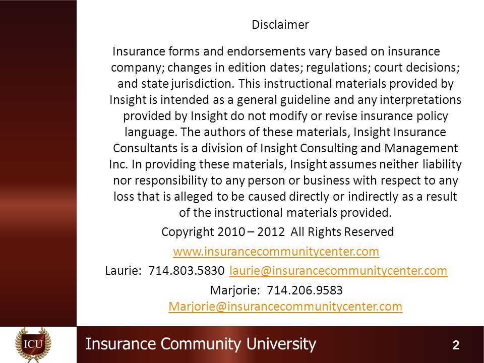 Insurance Community University  Family Medical Leave Act   The