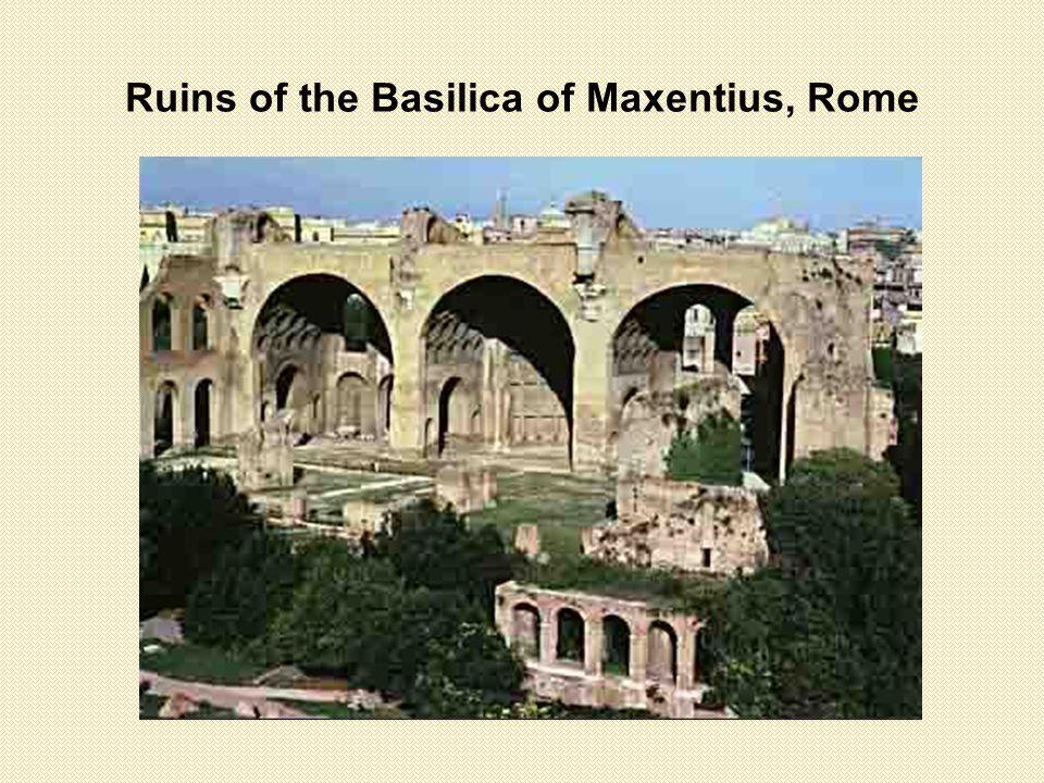 Ruins of the Basilica of Maxentius, Rome
