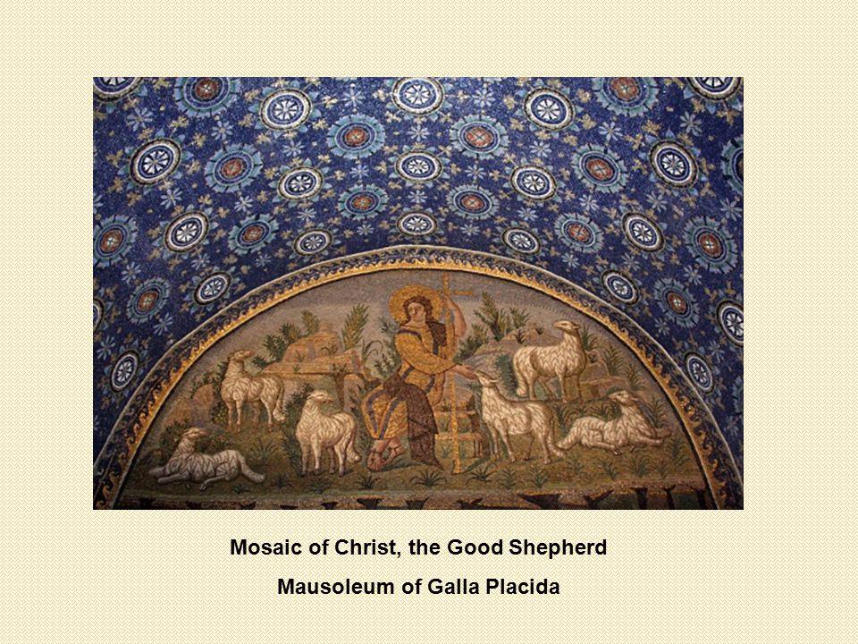 Mosaic of Christ, the Good Shepherd Mausoleum of Galla Placida