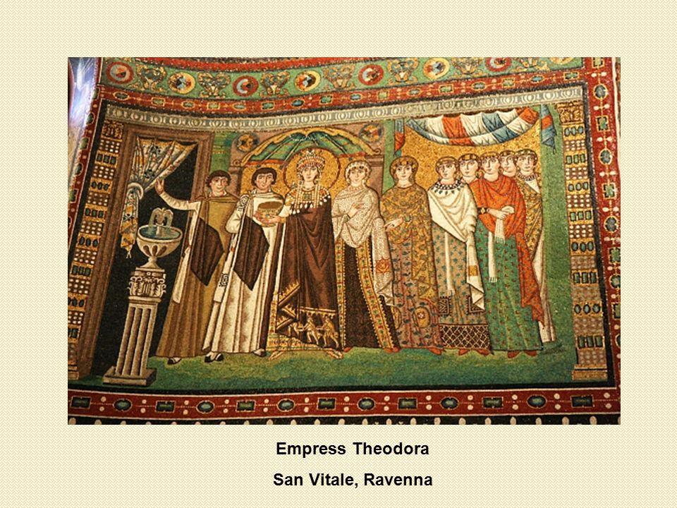 Empress Theodora San Vitale, Ravenna