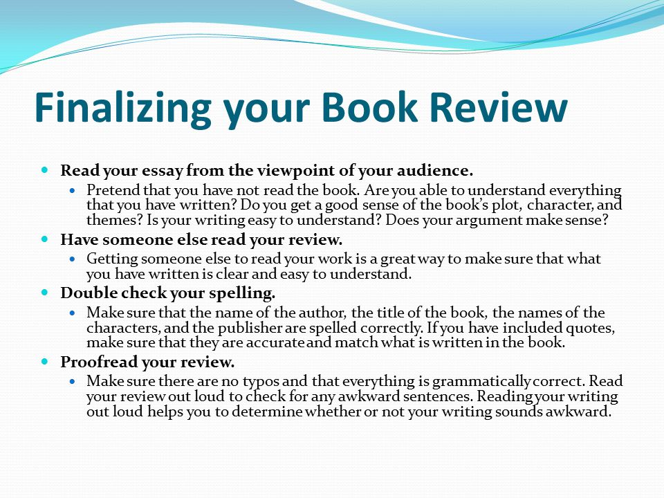 Essay writing book