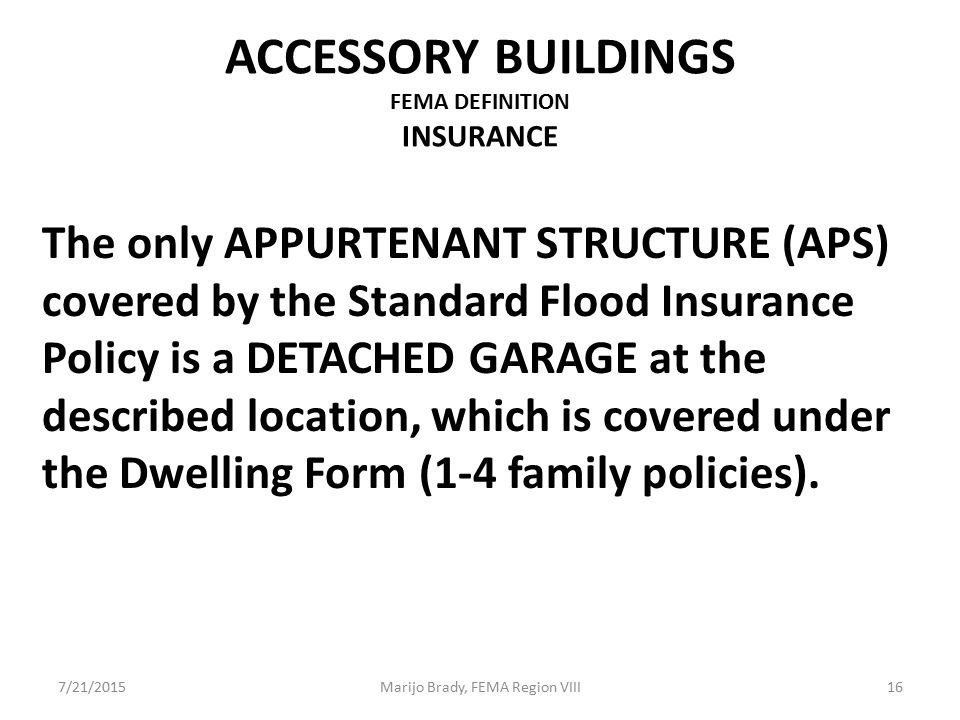 ACCESSORY STRUCTURES, DETACHED GARAGES, ATTACHED GARAGES, OH MY ...