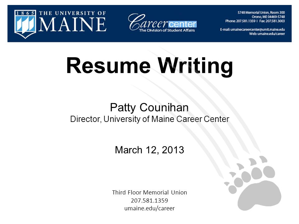 resume writing services portland maine