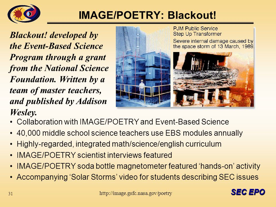 SEC EPO IMAGE/POETRY: Blackout.
