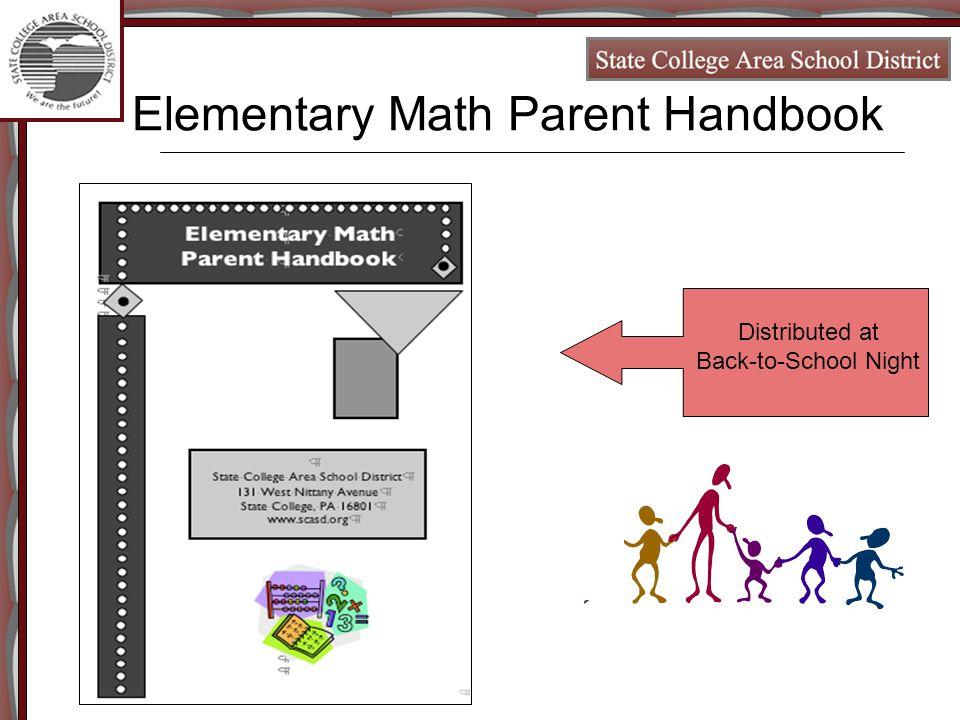 SCASD Math Curriculum MJ Kitt K-6 Math/Science Coordinator Bill ...