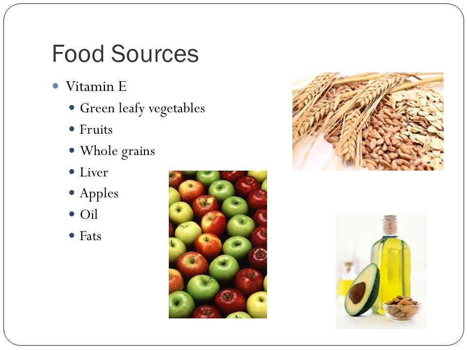 Solubility function sources vitamins mrs harrop ppt download 9 food sources vitamin e green leafy vegetables fruits whole grains liver apples oil fats workwithnaturefo