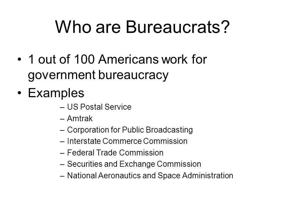evolution of the post bureaucratic
