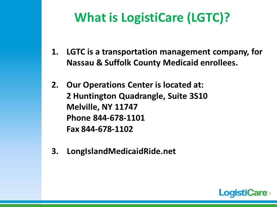 NON-EMERGENCY MEDICAL TRANSPORT of NASSAU & SUFFOLK COUNTY FEE-FOR ...