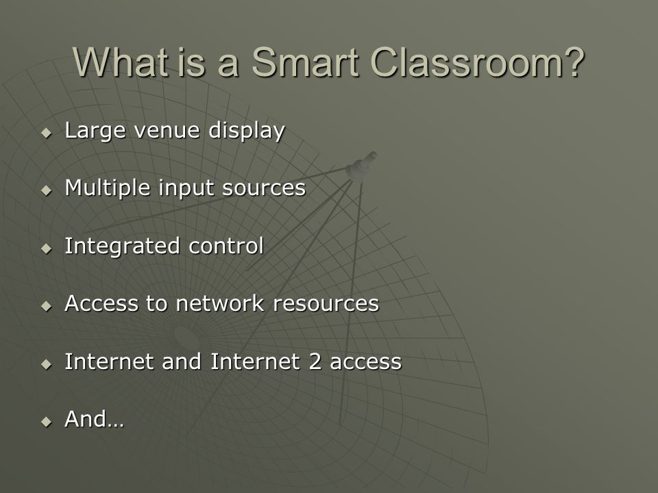 What is a Smart Classroom.