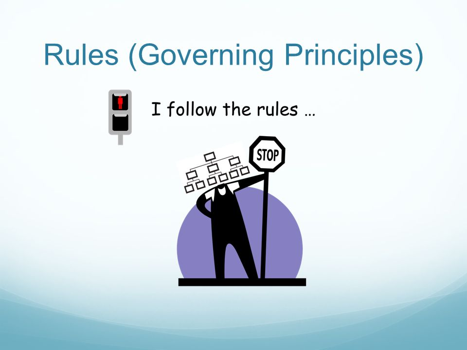 Rules (Governing Principles)