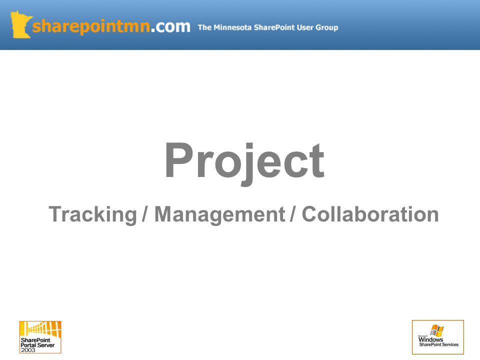 Project Tracking / Management / Collaboration