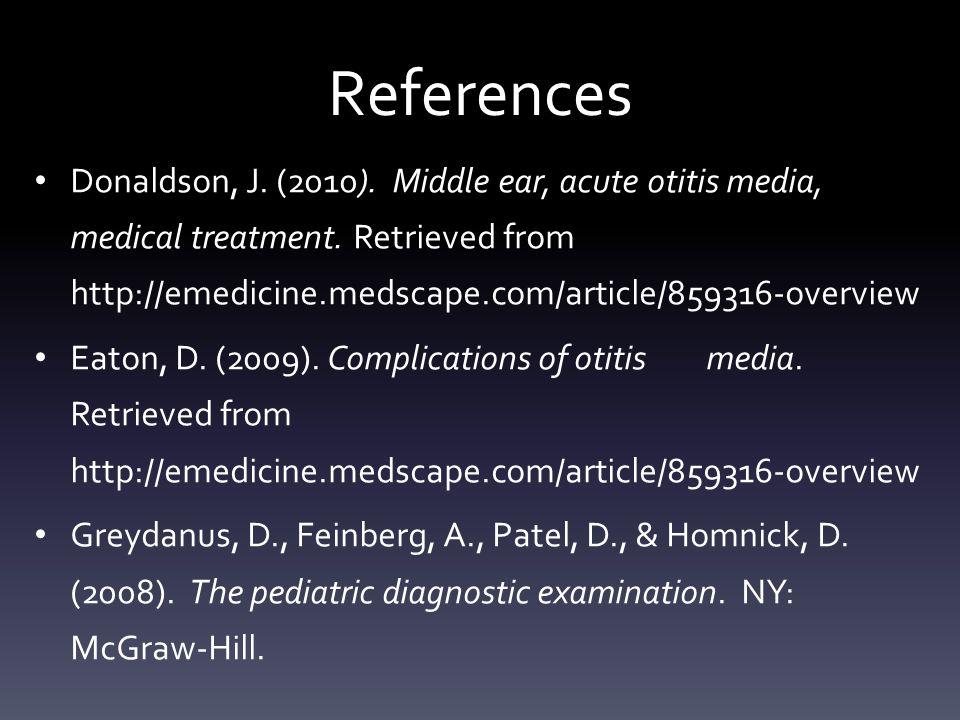 "Presentation ""Otitis Media Mary Bennett, Amanda Buisman & Roline ..."