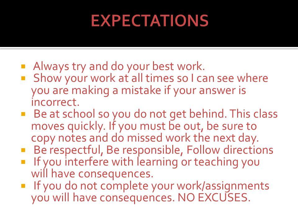 Best Excuses For Missing Homework