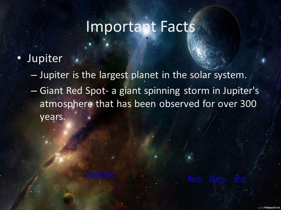 jupiter interesting facts