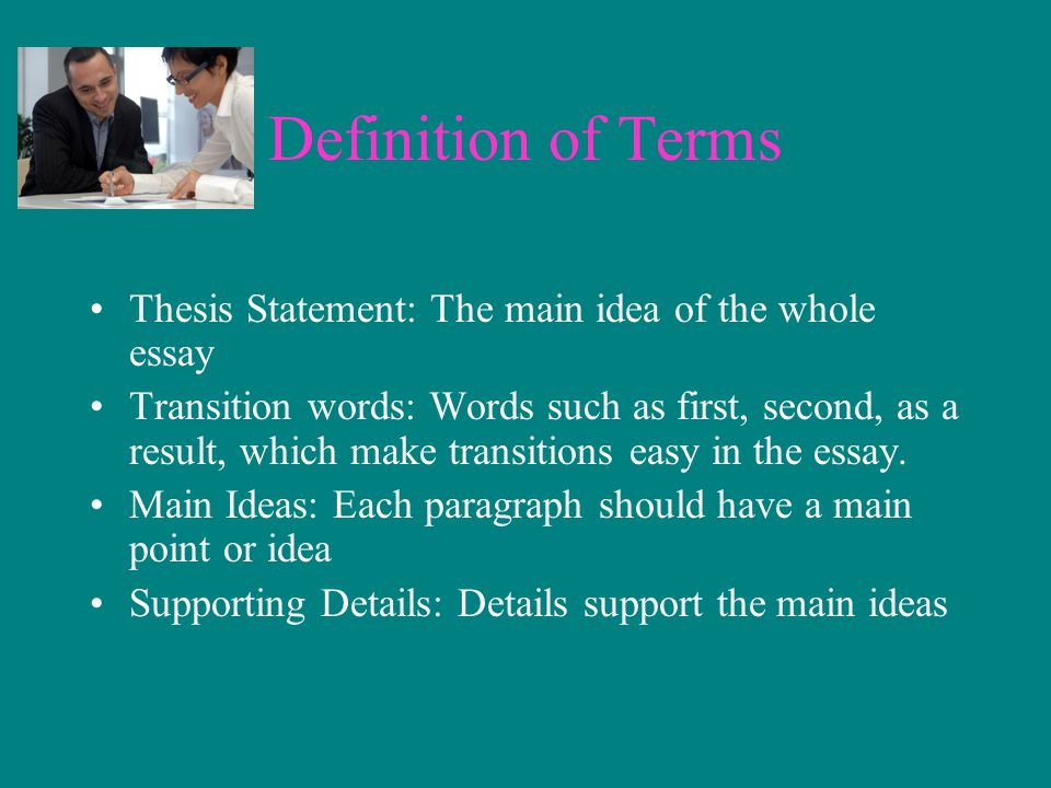 college essays transition words