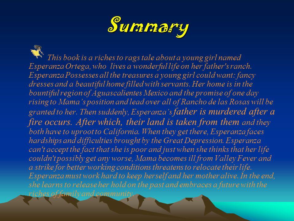 Esperanza Rising by Pam Munoz Ryan Miranda Durr Summary This book ...