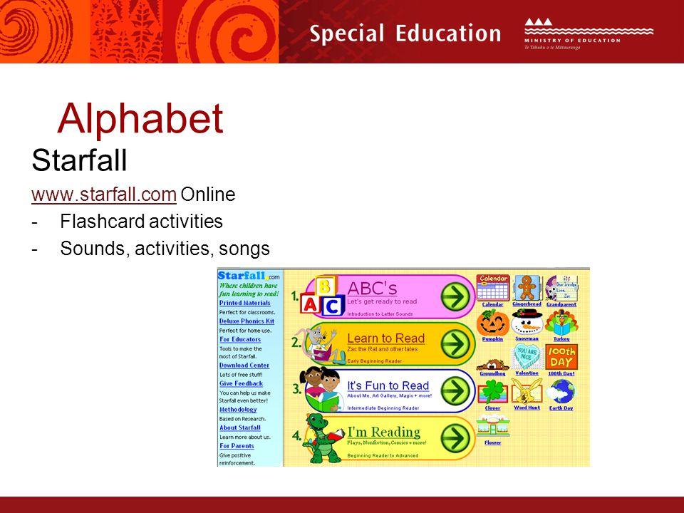 13 alphabet starfall wwwstarfallcomwwwstarfallcom online flashcard activities sounds activities songs