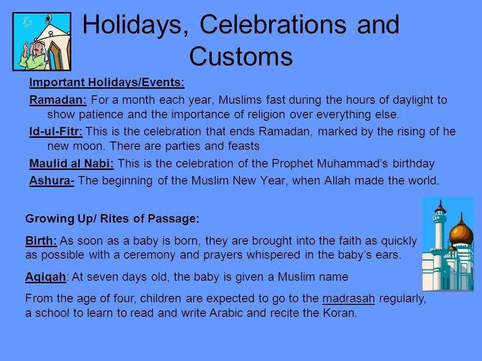 why holidays are important