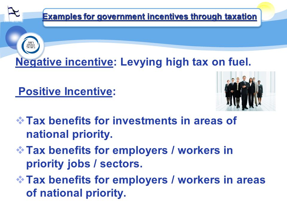 Negative incentive: Levying high tax on fuel.